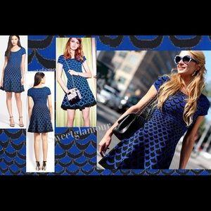 Diane Von Furstenberg Acorn Moon Jaquard dress
